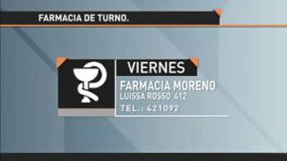FARMACIA DE TURNO 2017 Video