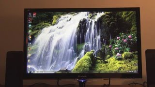 ViewSonic 24 inch LCD Monitor Model VX2452mH Unboxing