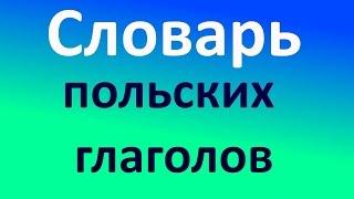 Польский. Короткий словарь глаголов