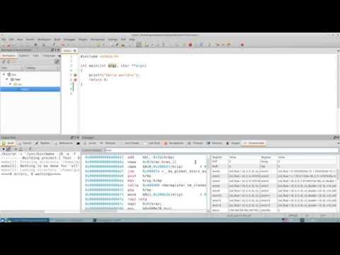 FSM Обзор среды разработки CodeLite