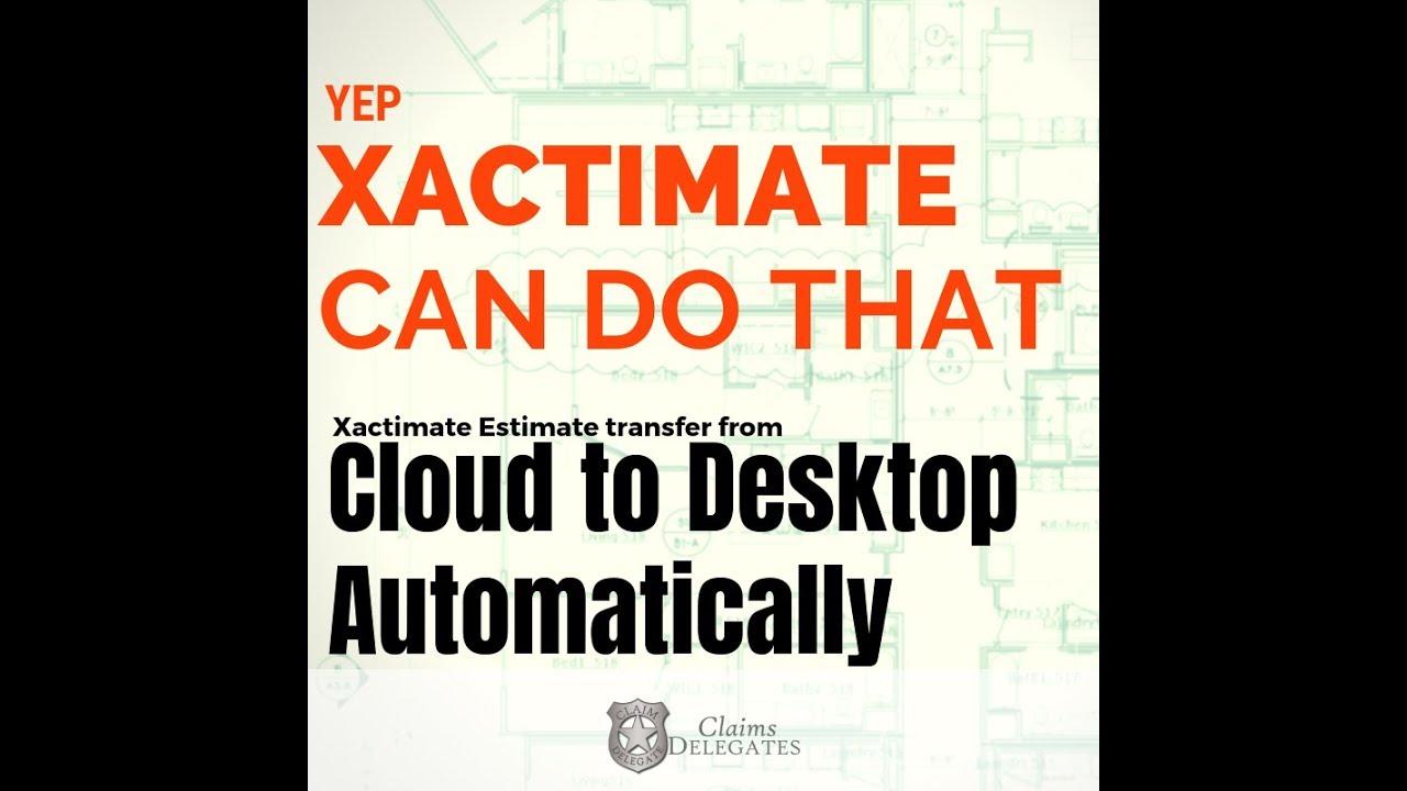 Xactimate Desktop X1