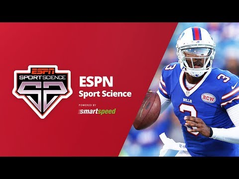 Sport Science E.J. Manuel tested with SMARTSPEED