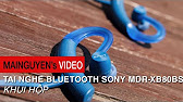 Sony XBA-S65 Sport Headphone Unboxing - YouTube