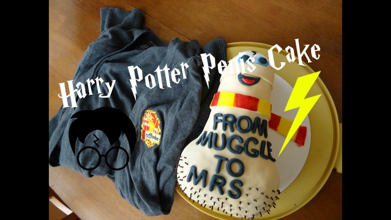 Harry Potter Penis Cake Bachelorette Party Cake