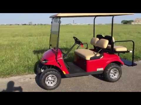 2016 E-Z-GO Valor Gas Red Custom Golf Car Located In Vandalia, Ohio