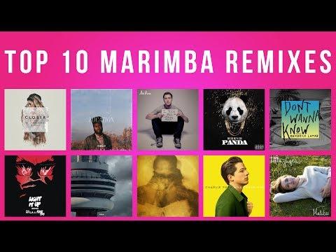 TOP 10 IPHONE MARIMBA SONG REMIXES OF 2017!