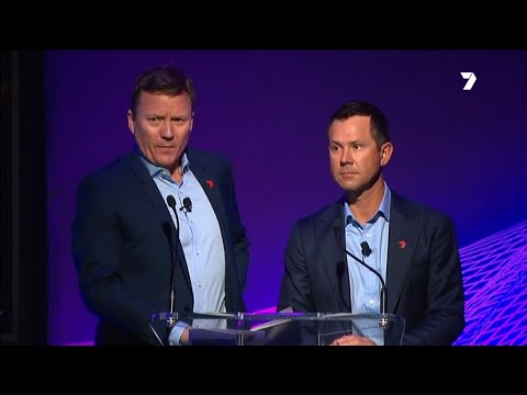 Ricky Ponting chats with James Brayshaw