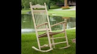 Dixie Seating Indoor / Outdoor Spindle Rocking Chair; Rocking Chair Cushions