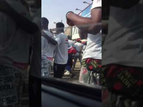 Ghana: Cab ride through political parade