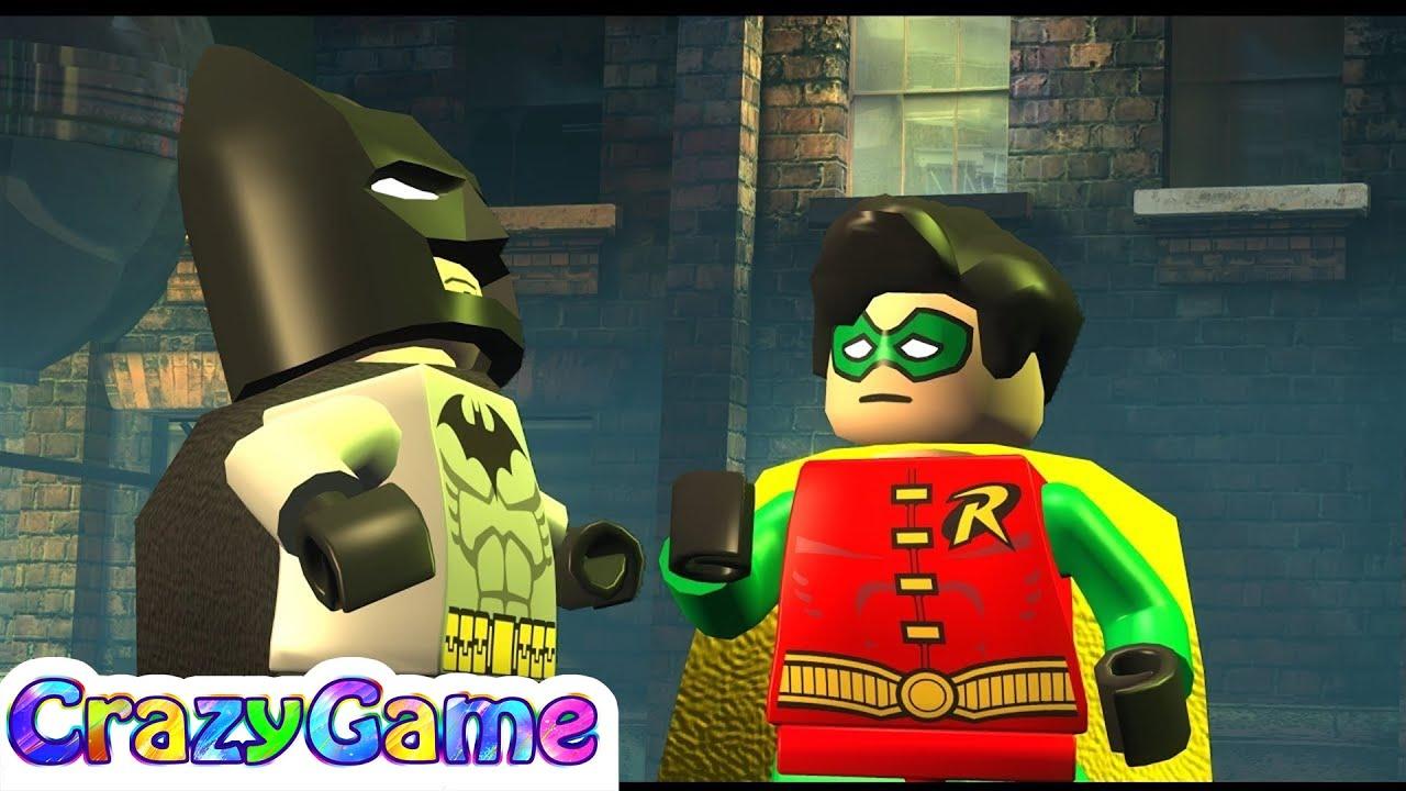 Lego Batman 100% Guide Complete Walkthrough #2 (Minikit ...