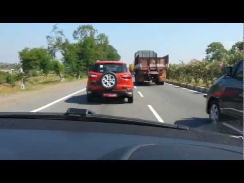 Ford Ecosport in NH45 India