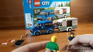 Обзор Lego CITY 60117 микроавтобус и фургон