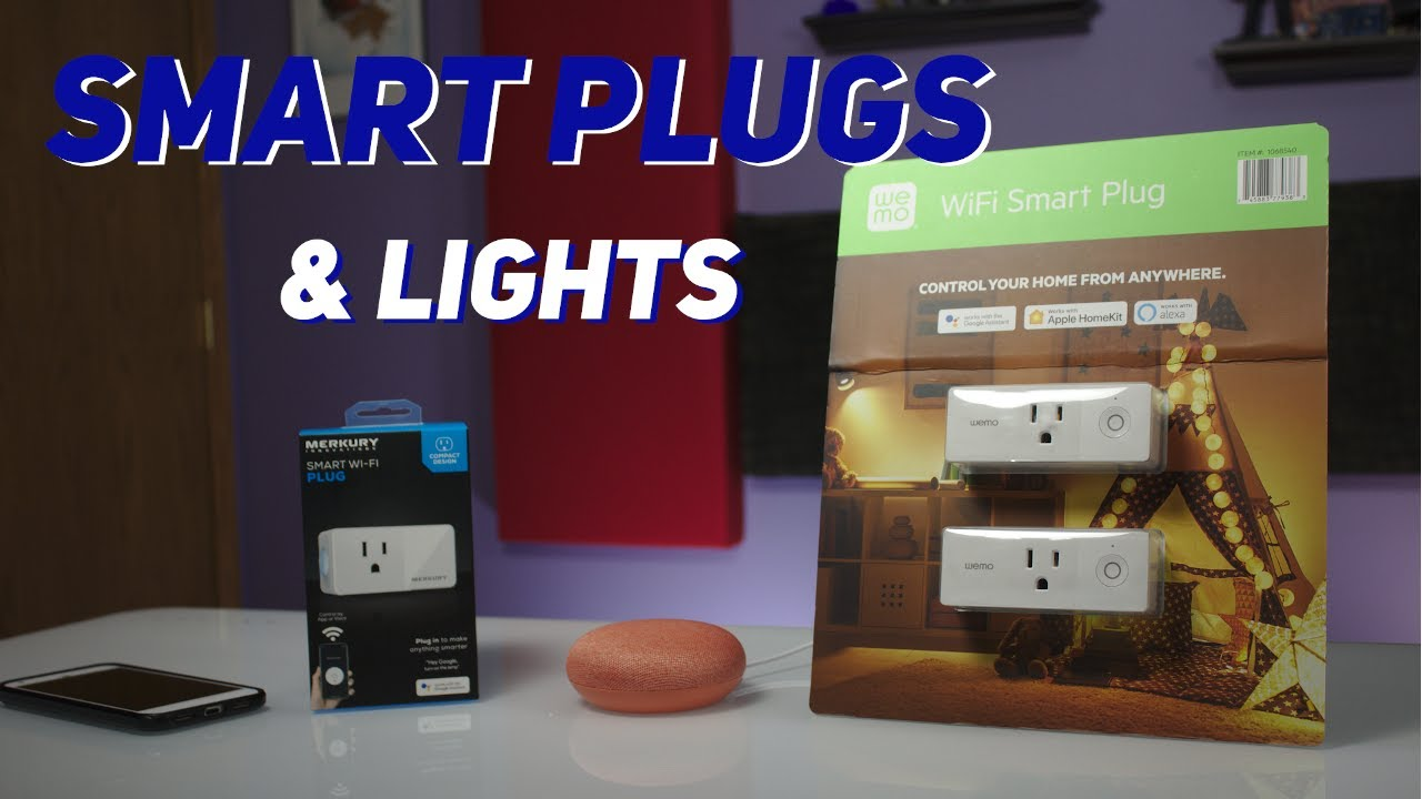 Smart Outlet Setup and Review: Merkury and WEMO
