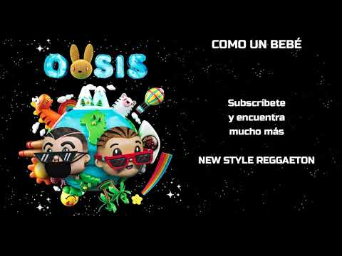 J. Balvin, Bad Bunny - COMO UN BEBÉ (Letra/Lyrics) ft. Mr Eazi
