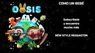 J. Balvin, Bad Bunny - COMO UN BEBÉ (Letra/Lyrics) ft. Mr Eazi
