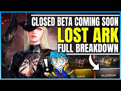 Lost Ark  Closed Beta Beginning Soon  How to Play + Everything You Need to Know  New Gameplay!