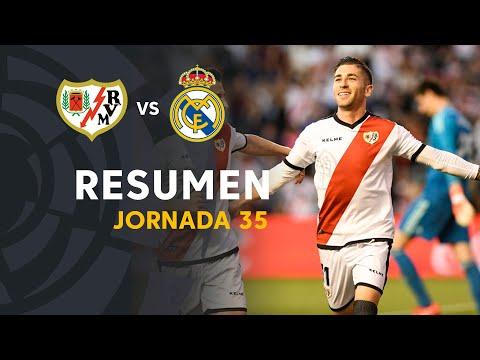 Resumen de Rayo Vallecano vs Real Madrid (1-0)