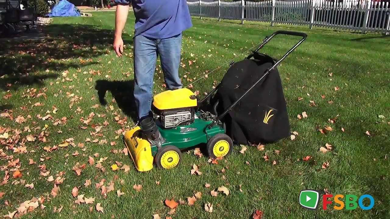 Sears Craftsman Lawn Vacuum And Chipper : Demo yard vac vacuum branch chipper by mtd bought