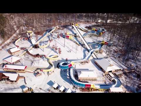 Snow Day Drone | Holiday World & Splashin' Safari