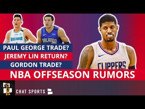 NBA Trade Rumors On Aaron Gordon And Paul George + Jeremy Lin NBA Return To The Warriors?