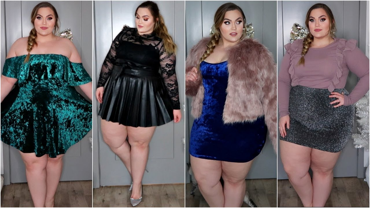 Bbw trying on clothes