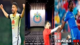 Gana AMÉRICA en su juego MIL   CHIVAS al CINE   BRAVO y DROGBA juntos