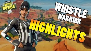 WHY WHISTLE WARRIOR IS THE BEST SKIN IN FORTNITE! (Hightlights!)
