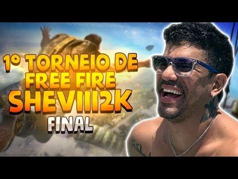 1° TORNEIO DE FREE FIRE SHEVIII2K - FINAL