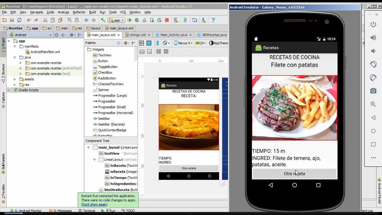 Recetas De C Cocina | Android Ejemplos Acceso A Sqlite Recetas De Cocina Aleatorias