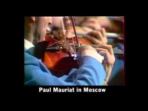 1978 Paul Mauriat in Moscow (interview and television show)