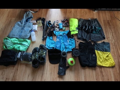 My Gear For A 55km Run