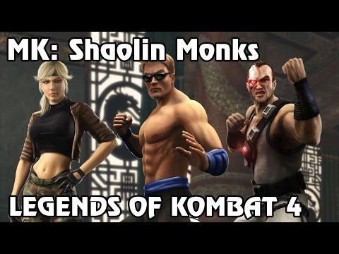 Mortal Kombat: Shaolin Monks - Legends of Kombat Part 4 (Johnny Cage, Sonya, Kano)