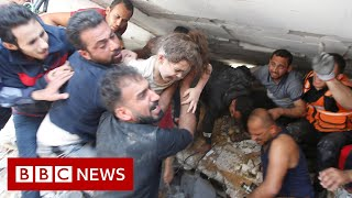 Israel launches new strikes on Gaza as calls for ceasefire grow - BBC News