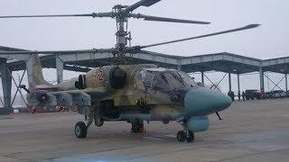 Кубанский авиаполк ЮВО пополнился двумя новыми вертолетами Ка-52 «Аллигатор»