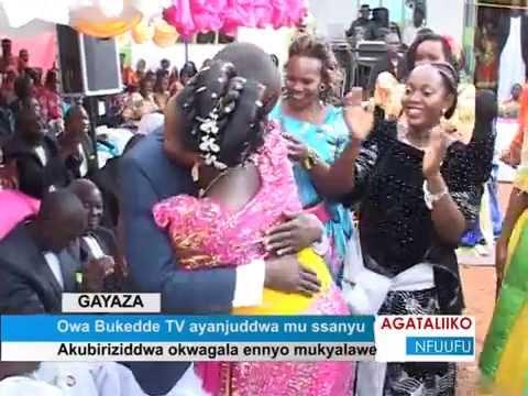 Owa Bukedde Tv ayanjuddwa mu ssanyu - YouTube