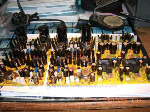 diy st6 single end dc pure class a power amplifier youtube. Black Bedroom Furniture Sets. Home Design Ideas