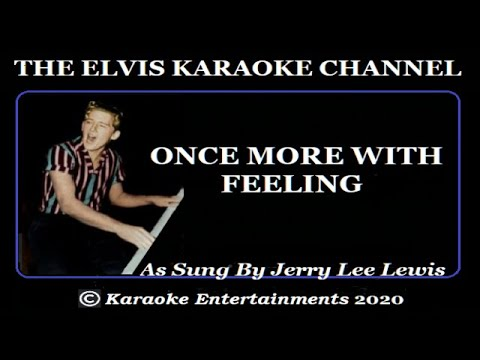 Jerry Lee Lewis Karaoke Once More With Feeling
