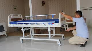 3 crank hospital bed