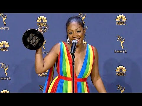 Emmys 2018: Tiffany Haddish Backstage (Full Press Conference)
