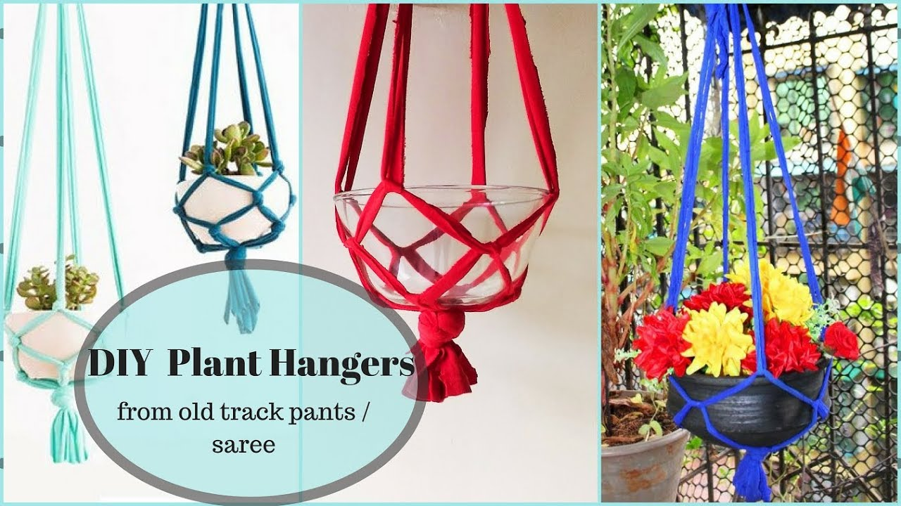 5 minute macrame plant hanger diy macrame plant hanger from track in five minutes 8150
