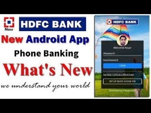 HDFC Phone Banking New Android App || Hdfc Mobile Banking App New || Nri Special 2018