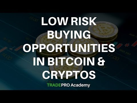Using Technical Analysis for Low Risk Buying Opportunities in Bitcoin and Cryptocurrencies