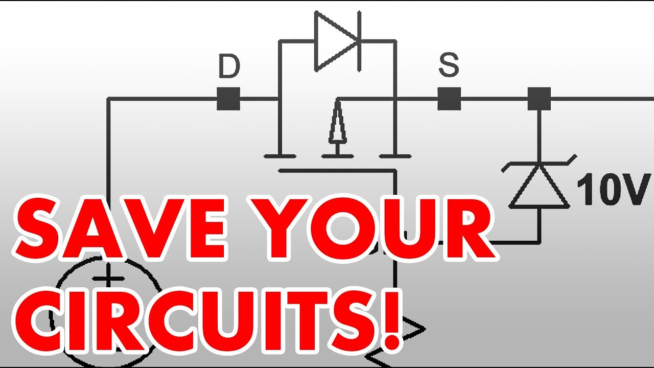 hight resolution of how to protect circuits from reversed voltage polarity