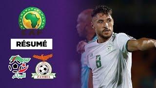 Résumé : L'Algérie colle une manita à la Zambie !