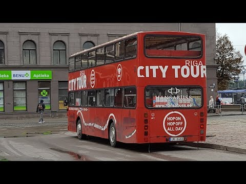 Stadtrundfahrt Riga City Tour Hop on Hop off Sightseeing Riga LiveRiga Citytour double decker