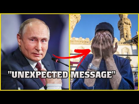 RUSSIAN PRESIDENT'S UNEXPECTED MESSAGE FOR MUSLIMS ON EID