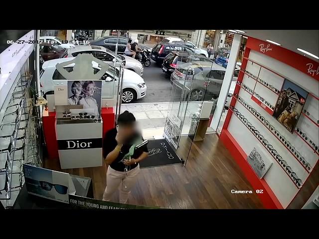 Κλοπή σε κατάστημα οπτικών στα Χανιά