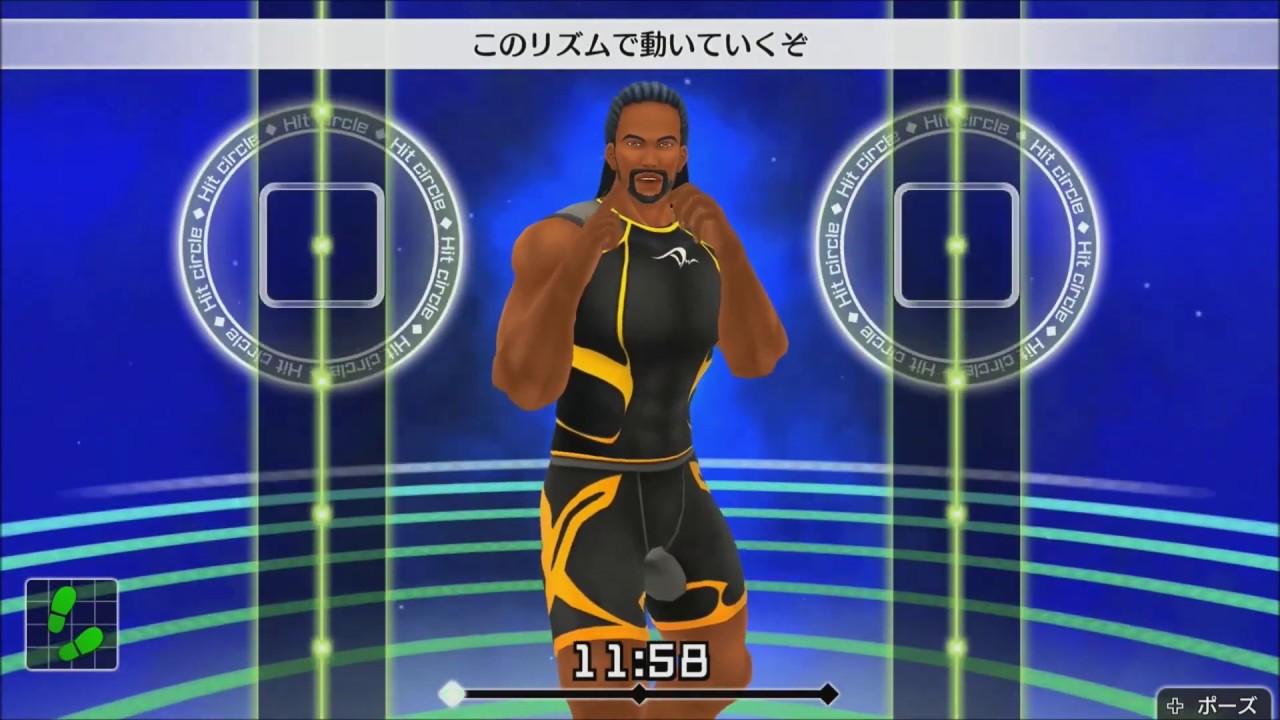 【Fit Boxing】 デモムービー_ベルナルド(CV.大塚明夫)