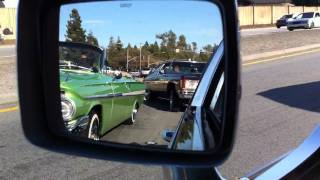 Lowriding with San Jose USO car club