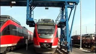 Кран козловой по спецзаказу для предприятия Die Bahn AG Koln(Кран козловой по спецзаказу для предприятия Die Bahn AG Koln. Кран используется для обслуживания локомотивов..., 2013-11-01T15:44:34.000Z)